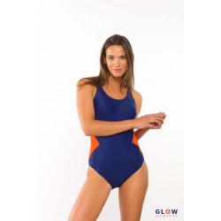 004 Kostium kąpielowy sportowy jednoczęściowy