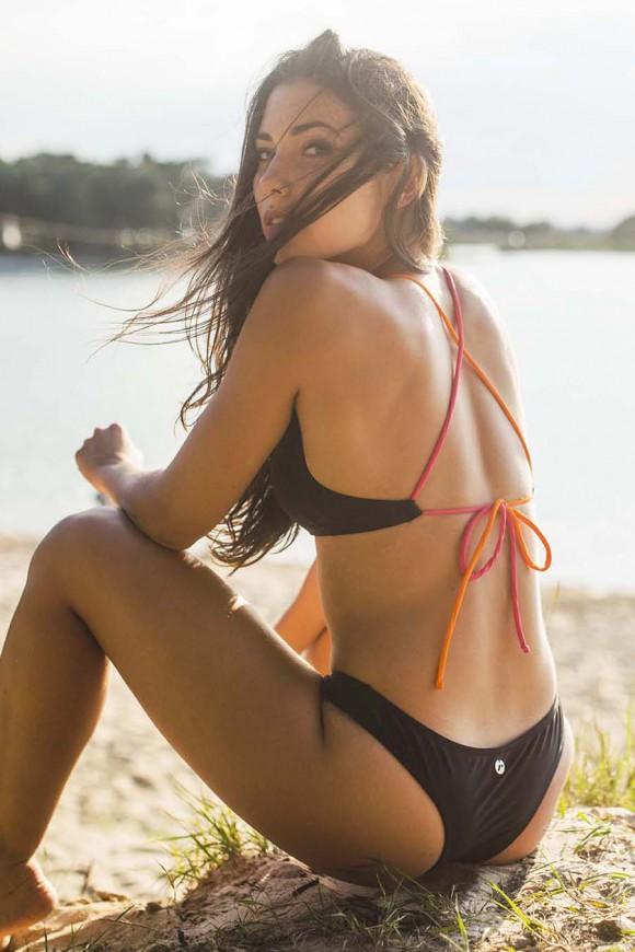 Biustonosz bikini wiązany