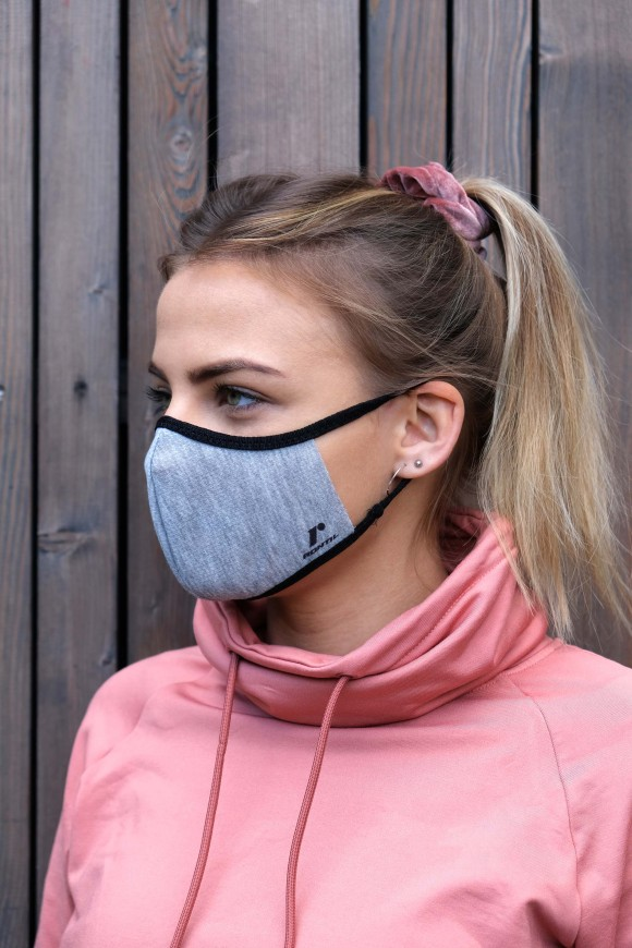 1 LAYER SPORTS FACE MASK UNISEX NEON YELLOW