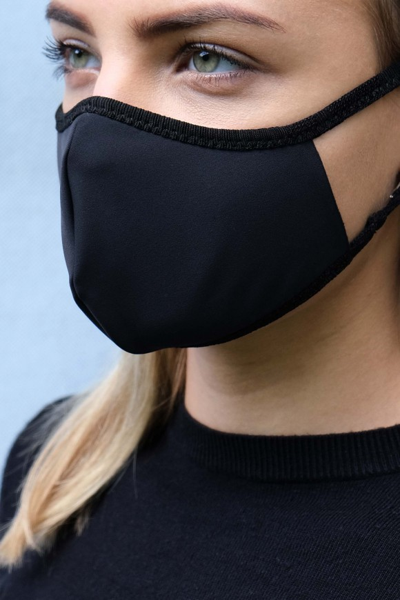 PROTECTIVE FACE MASK UNISEX BLACK