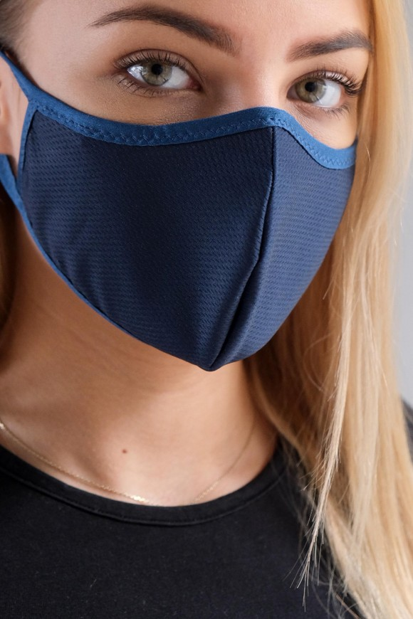PROTECTIVE 1-LAYER FACE MASK UNISEX BLACK